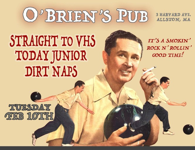 OBRIENS_FEB10_2014_VHS_FLYER